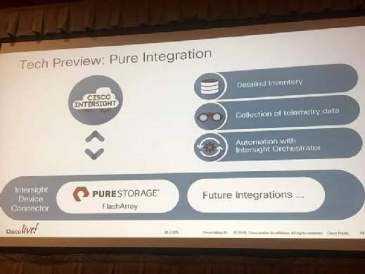 Cisco Intersight and Pure Storage