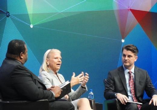 Ginny Rometty, IBM CEO, presents at Gartner Symposium