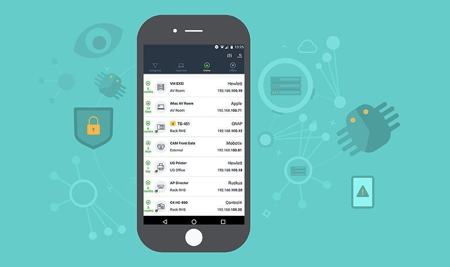 Recognize threats with a network scanning app - Undock your