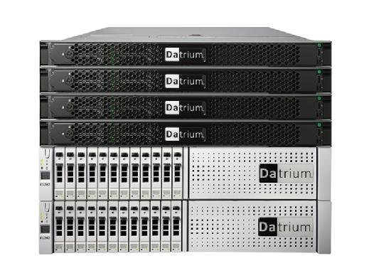 Datrium DVX all-flash Compute and Data Node stack