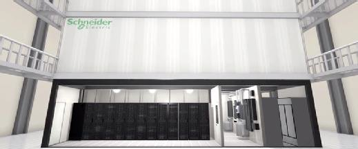 Figure 2. Schneider Electric prefabricated data center.