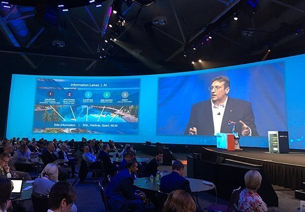 OpenText CEO Mark Barrenechea speaks at Enterprise World 2017