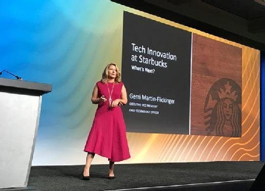 Gerri Martin-Flickinger shares examples of Starbucks' innovative projects and investments during her talk at the 2017 Gartner Symposium.