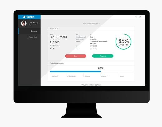 Screenshot of sample application built with GoodData Spectrum