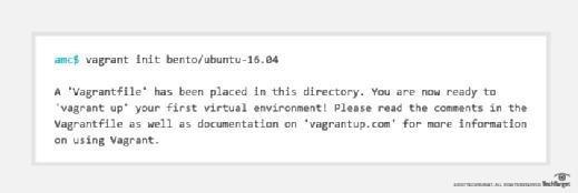 Create a Vagrantfile