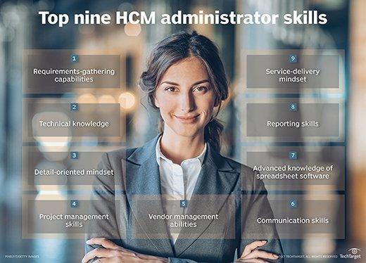 Top nine HCM administrator skills