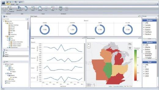 The WebFocus data discovery software platform includes WebFocus InfoAssist and WebFocus InfoApps.