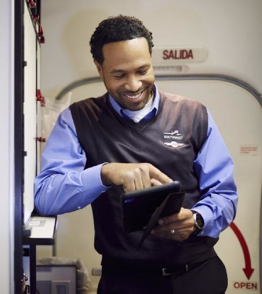 Southwest Airlines iPads