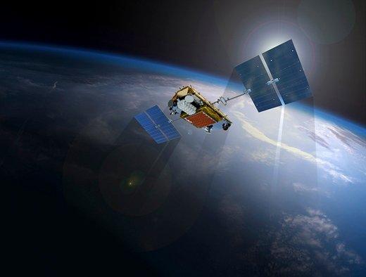 Iridium Next satellite.  - iridium rendering mobile - Iridium Next satellites to bring broadband IoT to every corner of the globe