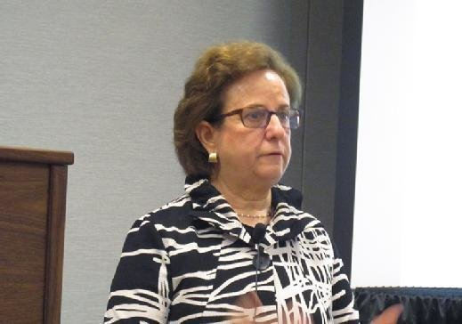 IT consultant Judith Hurwitz speaks on cognitive computing at the recent Cloud Expo in New York.