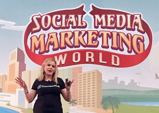 Samantha Kelly, Social Media Marketing World