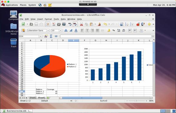 LibreOffice mit XenDesktop auf Mac OS