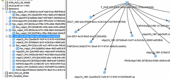 Lctree visualizes vCD linked clone trees