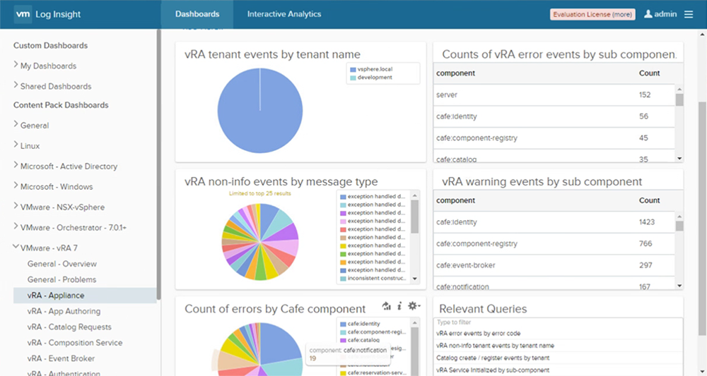 What is VMware vRealize Log Insight (formerly vCenter Log