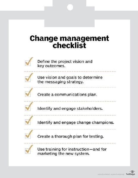 What Is Change Management  Definition From WhatisCom