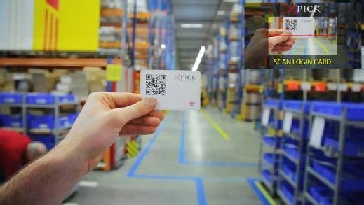 DHL uses smart glasses and AI in a warehouse