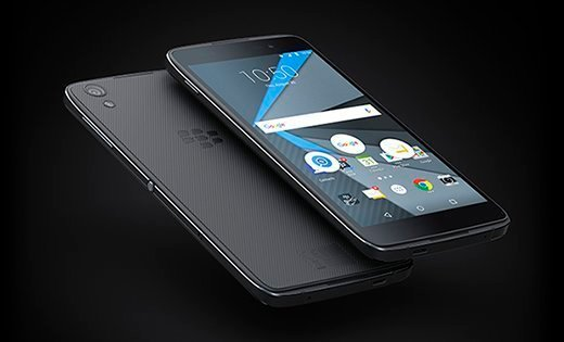 The BlackBerry DTEK50.