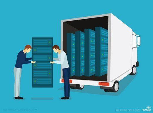 Moving servers to a colocation facility
