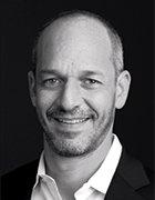 Headshot of Salesforce CMO Josh Newman, M.D.