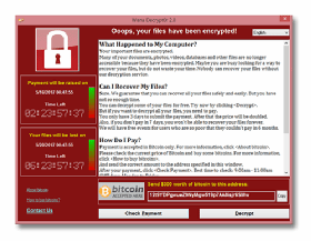 Ransomware attack notification