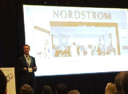 Aaron Smith of Nordstrom speaks at Internet of Things World 2015.