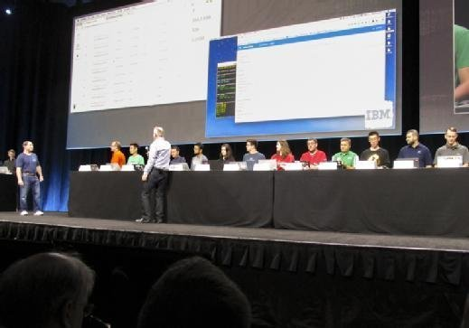 Operators from 15 cloud providers get ready to join an OpenStack computing cluster at the OpenStack Summit.