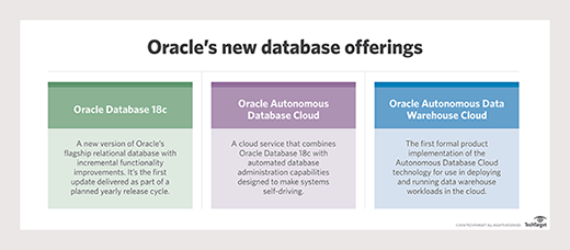 Oracle database technologies
