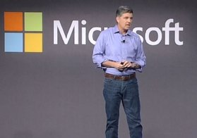 James Phillips, vice president of Microsoft's business applications group