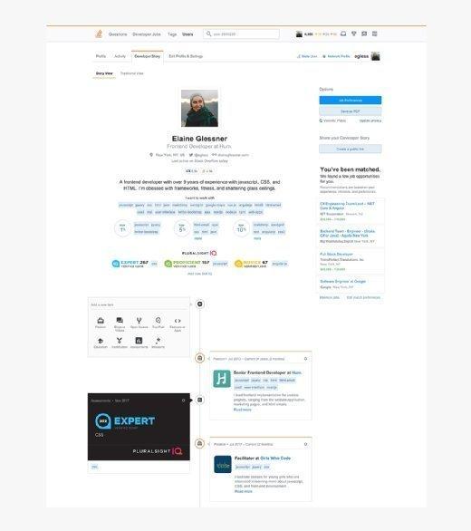Pluralsight IQ-Stack Overflow interface
