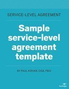 Free service-level agreement template