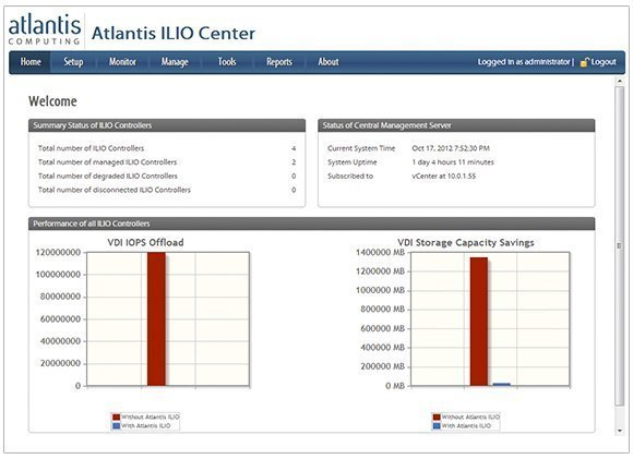 Atlantis Computing ILIO Diskless VDI 3.0