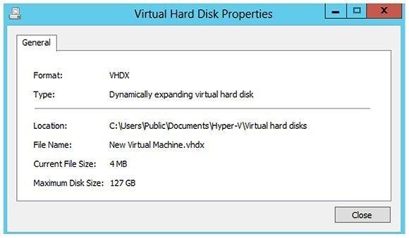 Image 4: Inspecting the VHDX hard disk