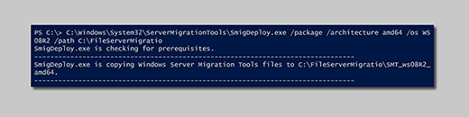 Windows Server Migration Tools make file share moves less taxing