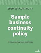Suivez notre modèle pour élaborer une politique de continuité d'activité