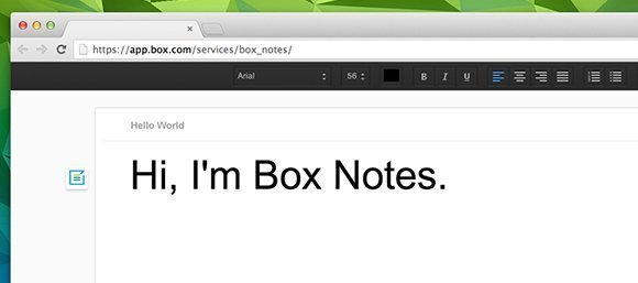 Box Notes adds content creation features to Box's cloud collaboration platform