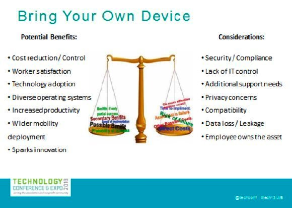 Ensure mobile device security through a mobile device