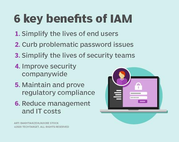 VorteilAbbildung 3: Identitäts- und Zugangsmanagement hat viele Vorteile, besonders in der Cloud.e von IAM