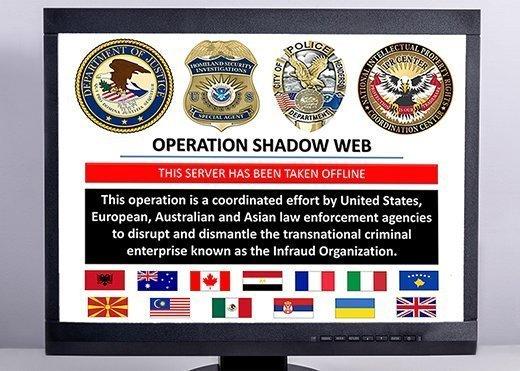 DoJ shutdown of Infraud Organization