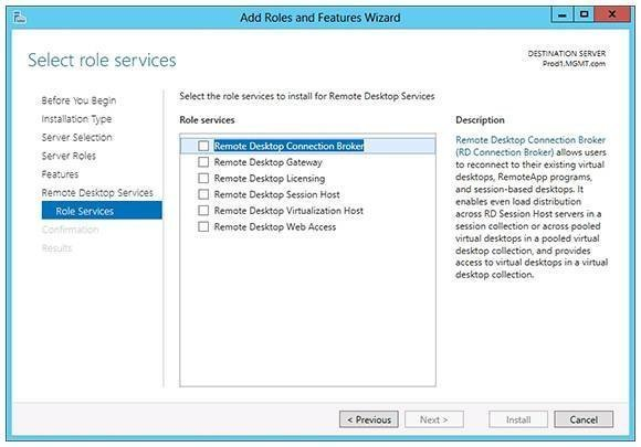 What's new in Windows Server 2012 Remote Desktop Services