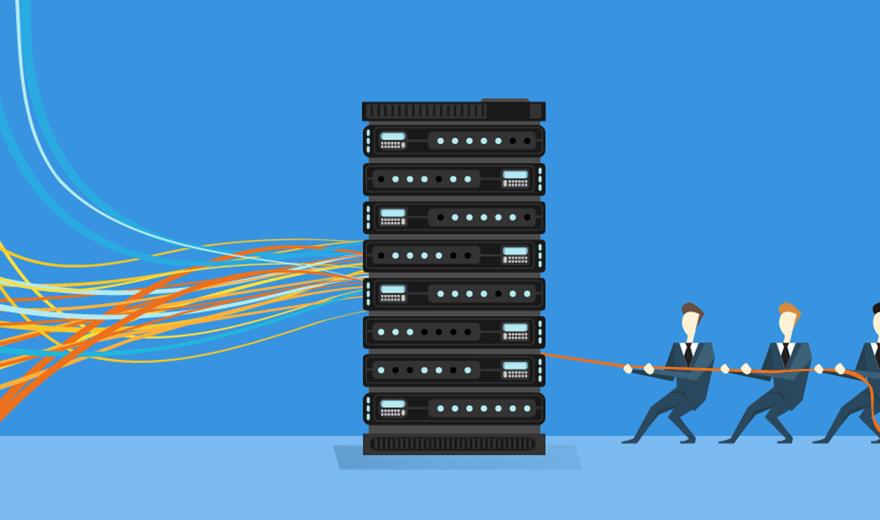 Examine server I/O problems to avoid network bottlenecks