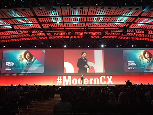 Oracle's Shashi Seth, at the Modern Customer Experience CRM user conference