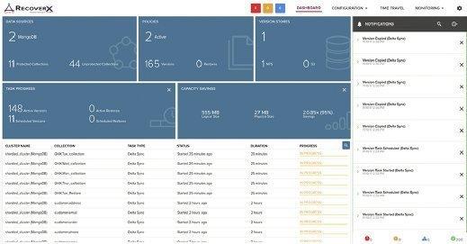 Rubrik Datos IO RecoverX 2.0 screenshot