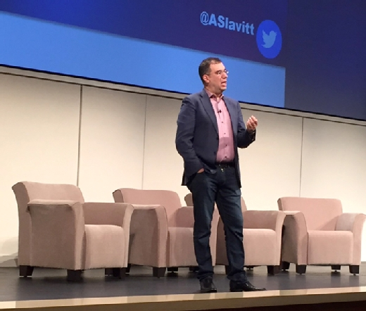 Photo of Andy Slavitt speaking at the 15th Annual SAS Health Analytics Executive Forum