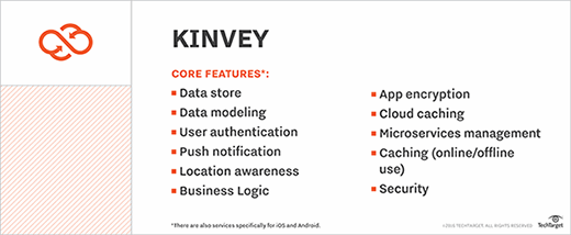 Kinvey features