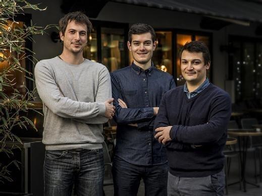 David Billamboz, Josquin Farge and Louis Viallet