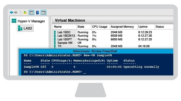 how to open windows power shell admin
