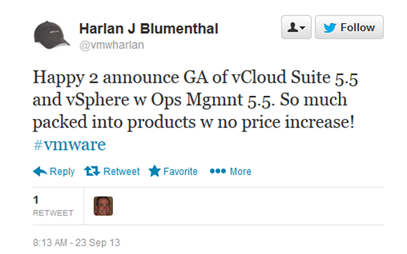 Many updates to vCloud Suite 5.5 and vSphere with Operations Management 5.5