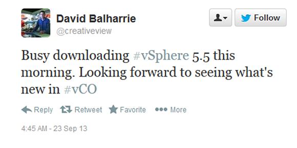 Downloading vSphere 5.5.