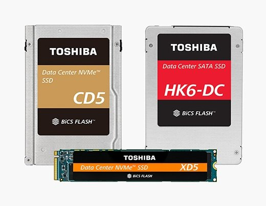 New Toshiba NVMe SSDs