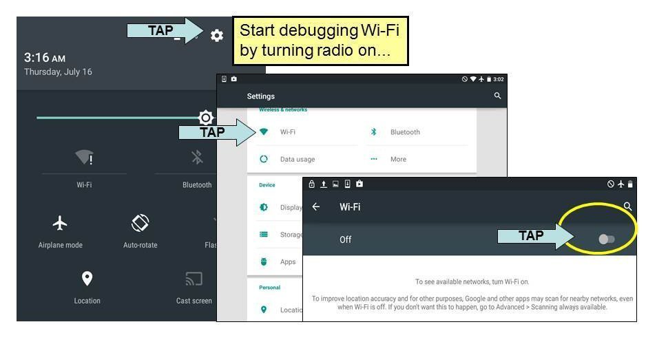 How to troubleshoot Android Wi-Fi connection problems